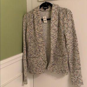 NWT Express textured knit blazer